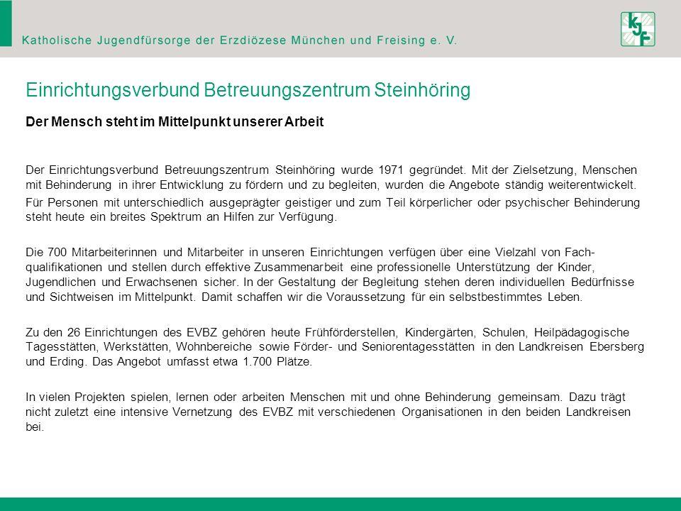 Einrichtungsverbund Betreuungszentrum Steinhöring