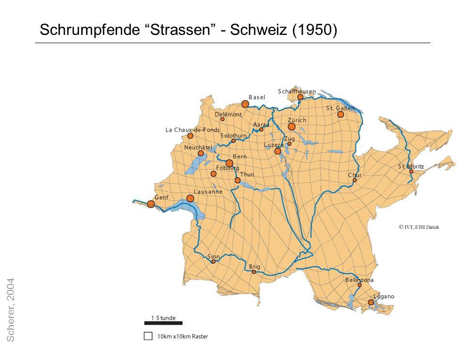 Schrumpfende Strassen - Schweiz (1950)