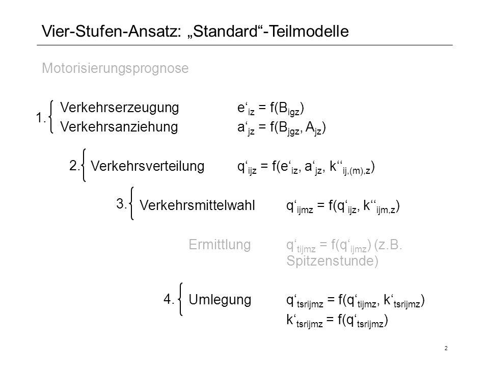 """Vier-Stufen-Ansatz: """"Standard -Teilmodelle"""