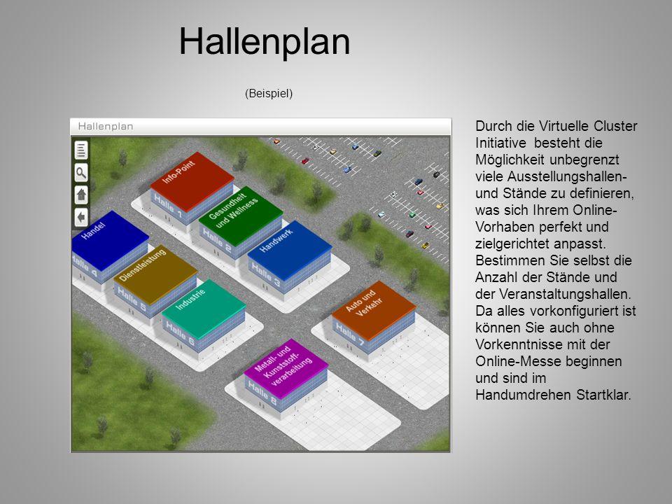 Hallenplan (Beispiel)