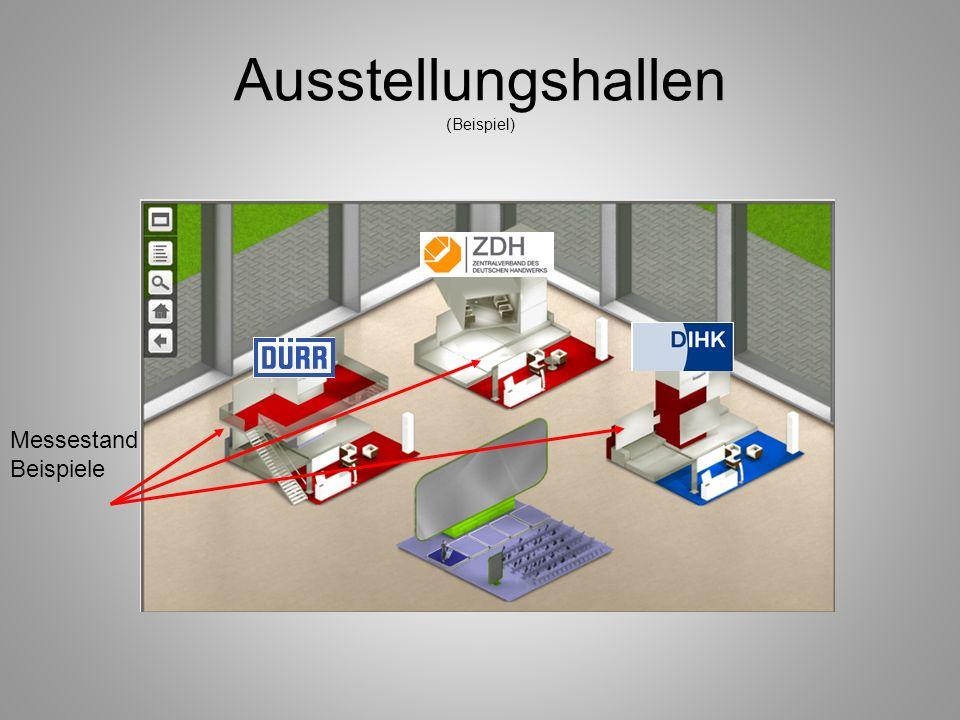 Ausstellungshallen (Beispiel)