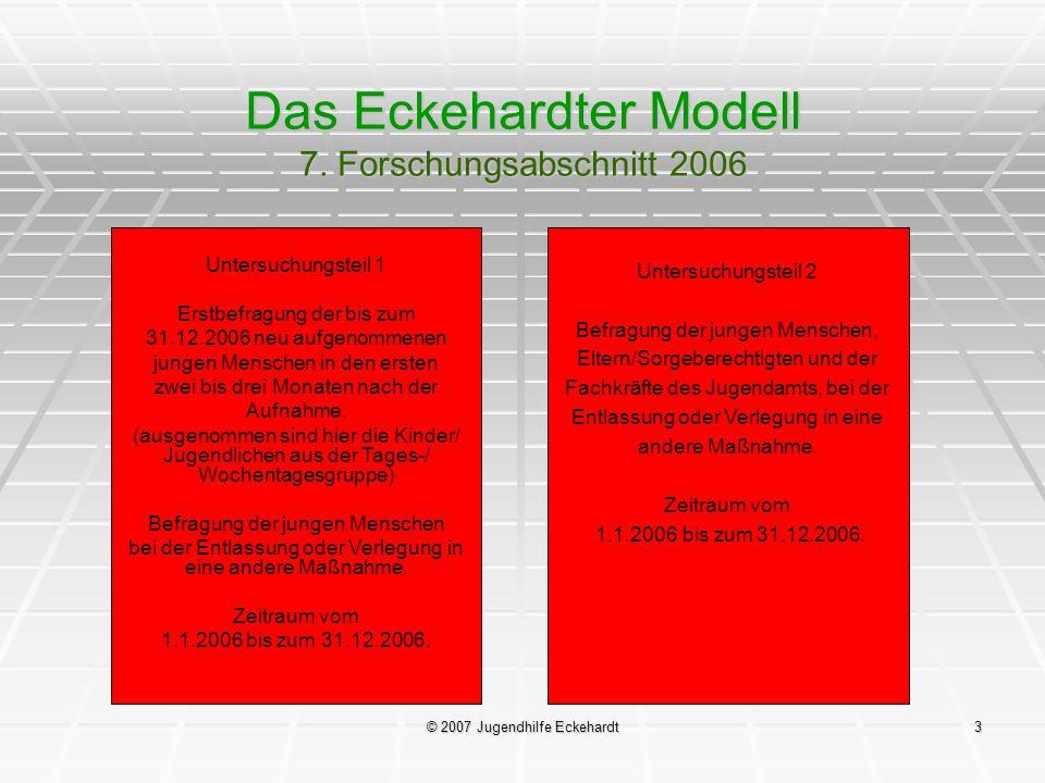 Das Eckehardter Modell 7. Forschungsabschnitt 2006