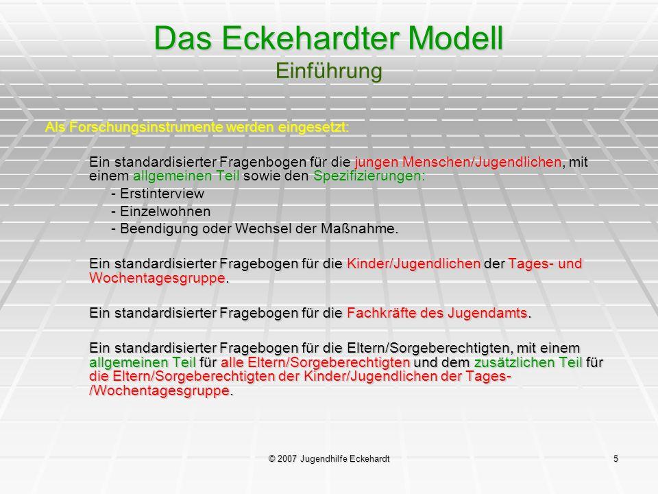 Das Eckehardter Modell Einführung