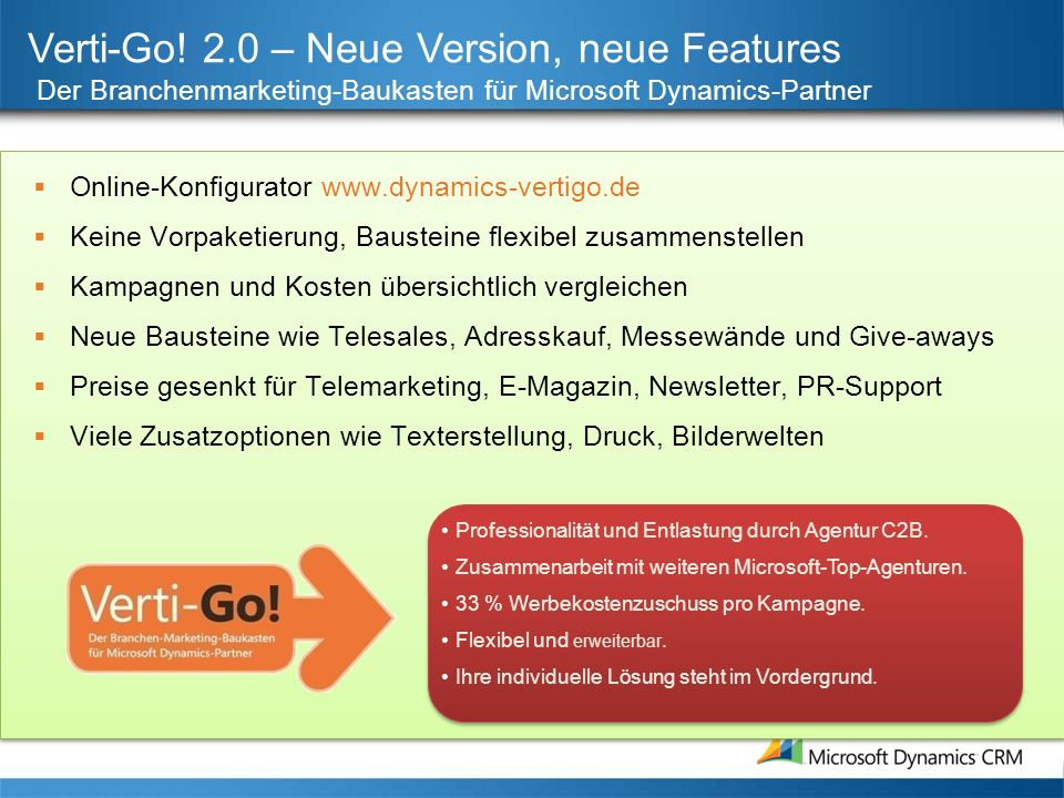 Verti-Go! 2.0 – Neue Version, neue Features