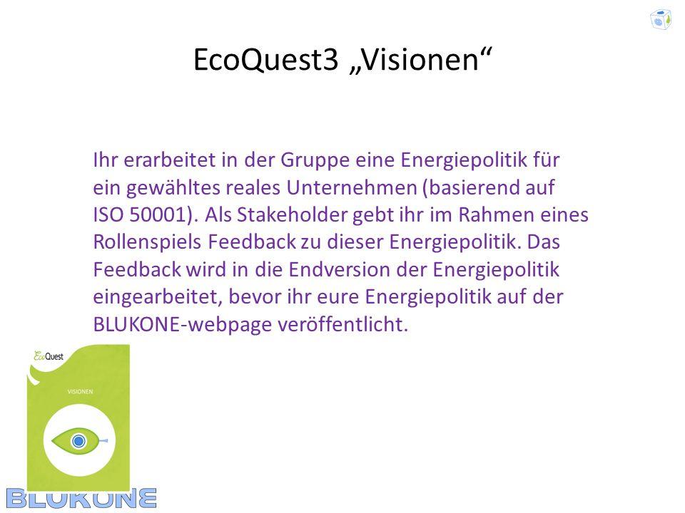"""EcoQuest3 """"Visionen"""
