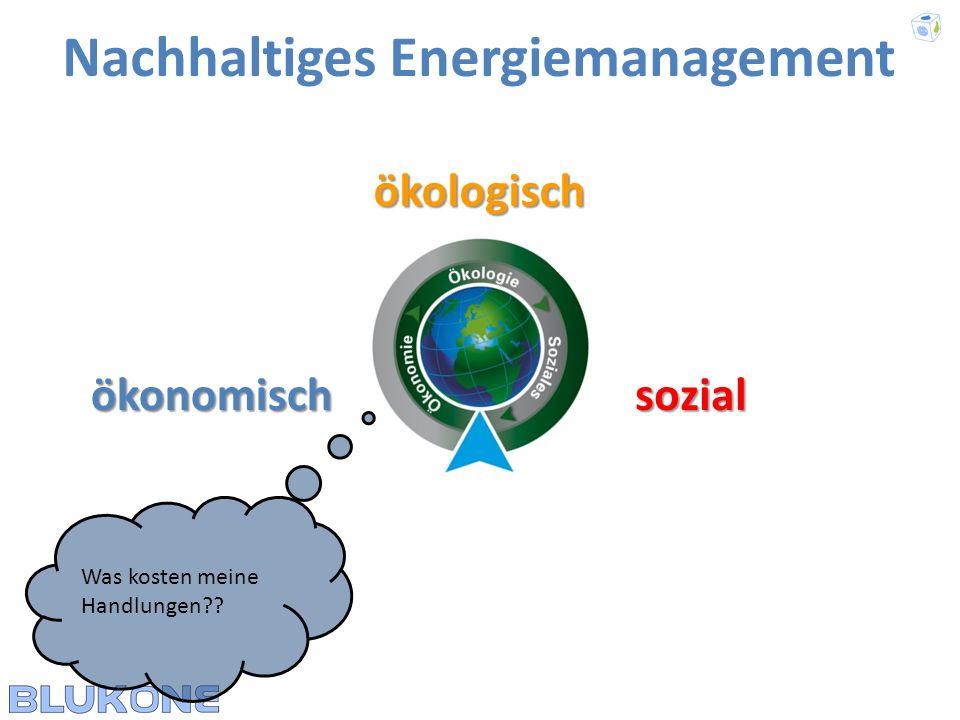 Nachhaltiges Energiemanagement