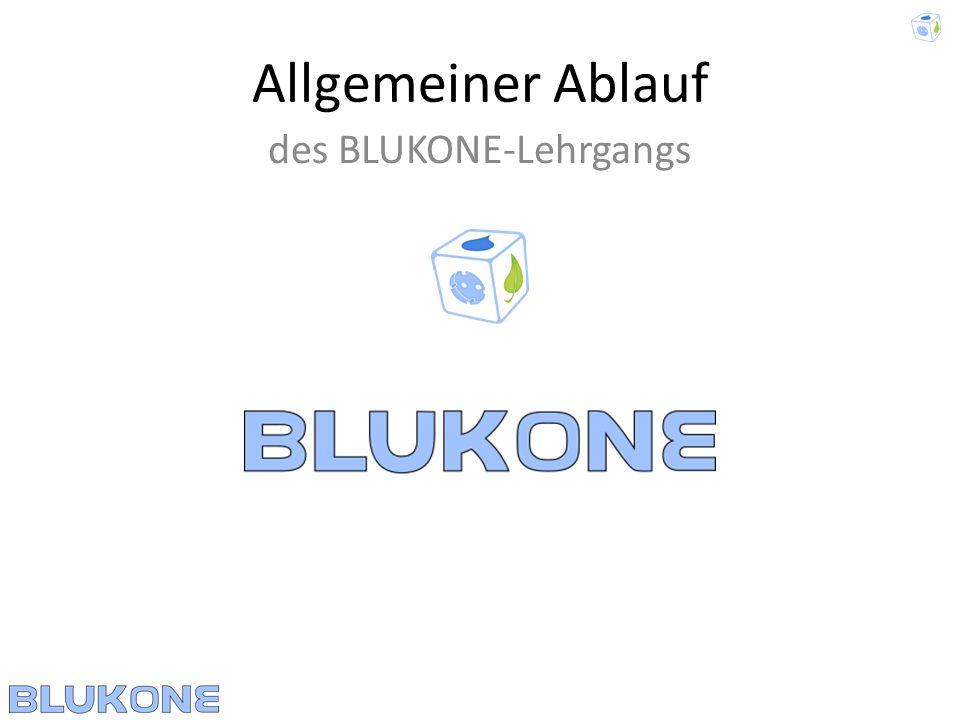 des BLUKONE-Lehrgangs