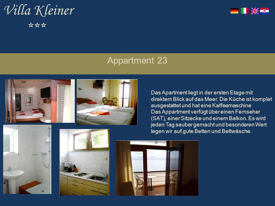 Villa Kleiner *** Appartment 23