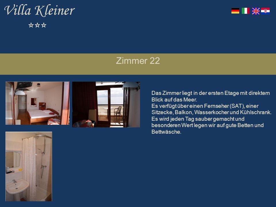 Villa Kleiner *** Zimmer 22