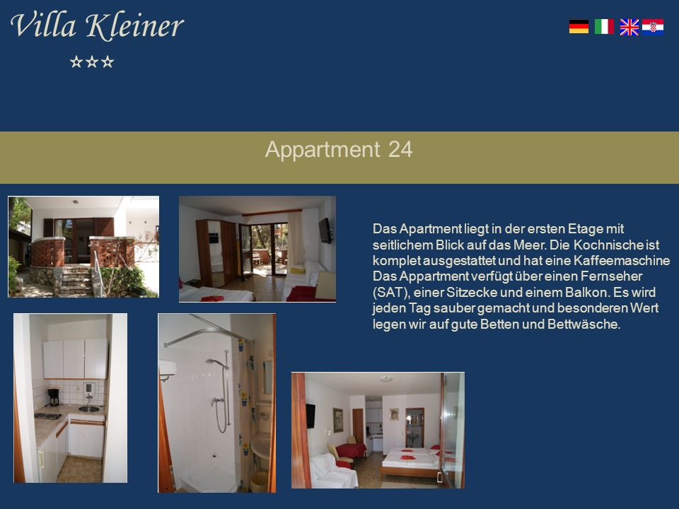 Villa Kleiner *** Appartment 24