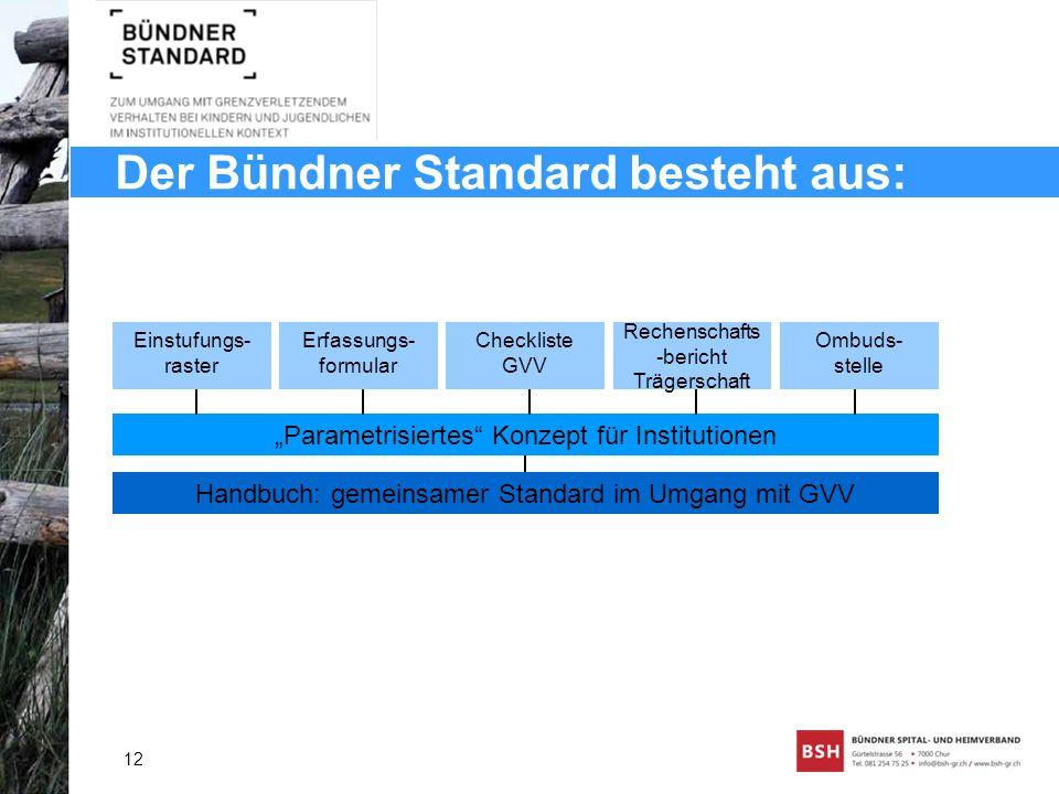 Der Bündner Standard besteht aus: