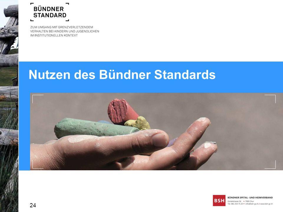 Nutzen des Bündner Standards