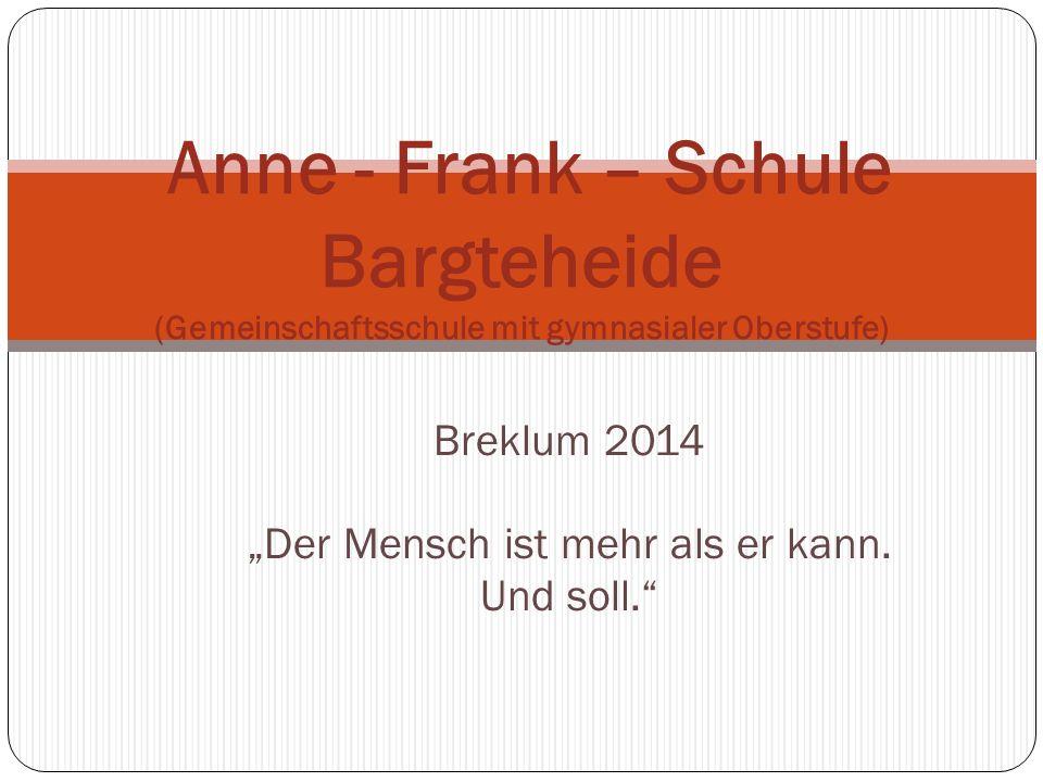 """Breklum 2014 """"Der Mensch ist mehr als er kann. Und soll."""