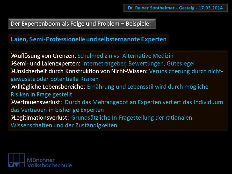 Dr. Rainer Sontheimer - Gasteig - 17.03.2014