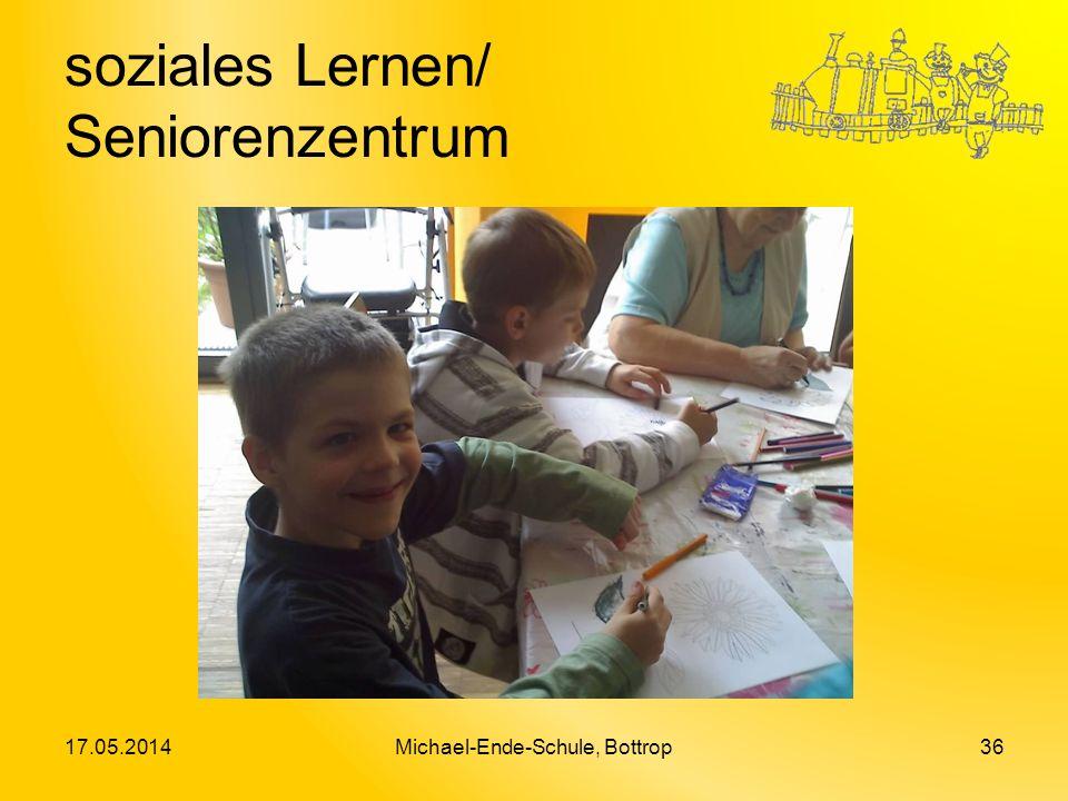 soziales Lernen/ Seniorenzentrum