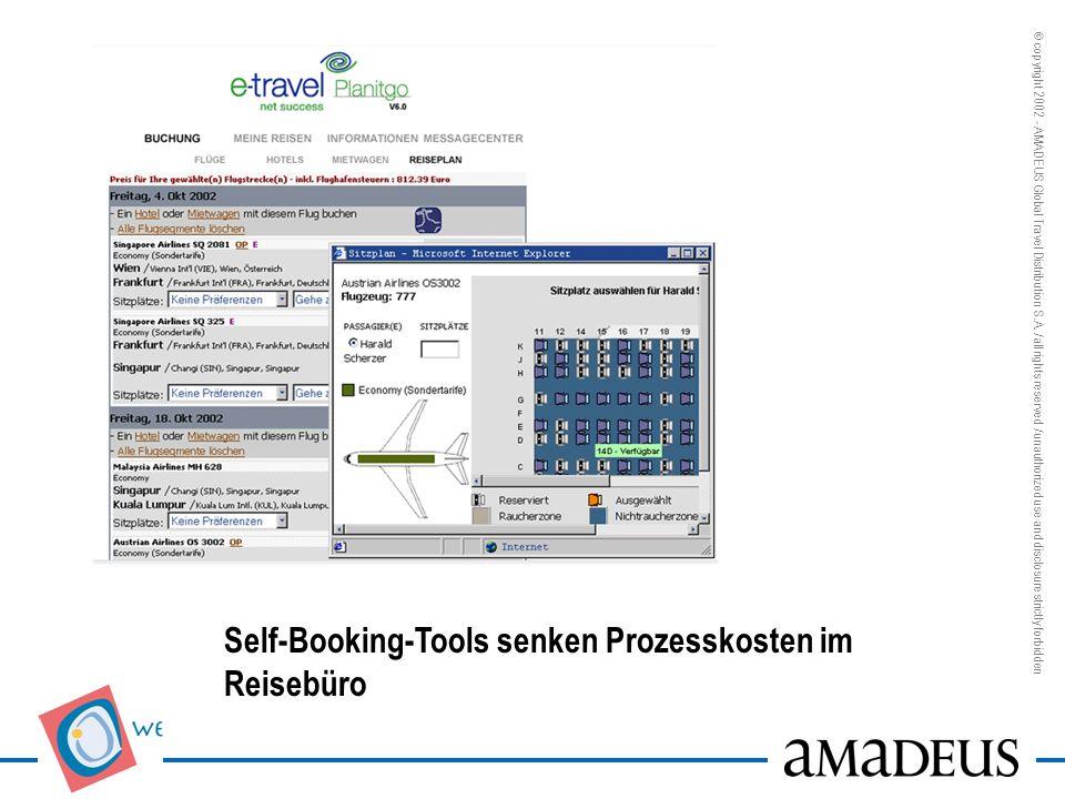 Self-Booking-Tools senken Prozesskosten im Reisebüro