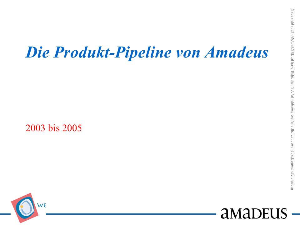 Die Produkt-Pipeline von Amadeus