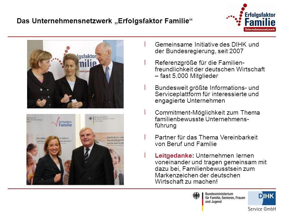 """Das Unternehmensnetzwerk """"Erfolgsfaktor Familie"""