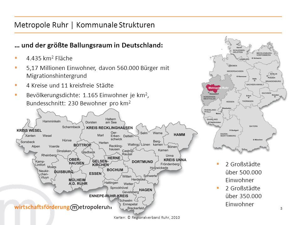 Metropole Ruhr | Kommunale Strukturen
