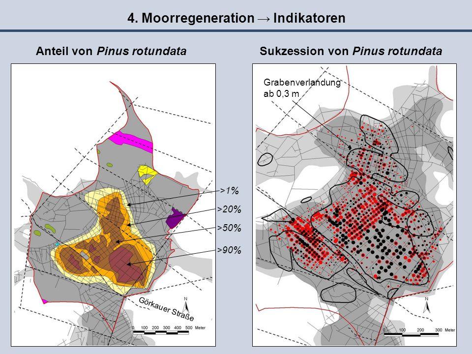 4. Moorregeneration → Indikatoren