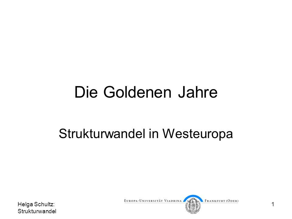 Strukturwandel in Westeuropa