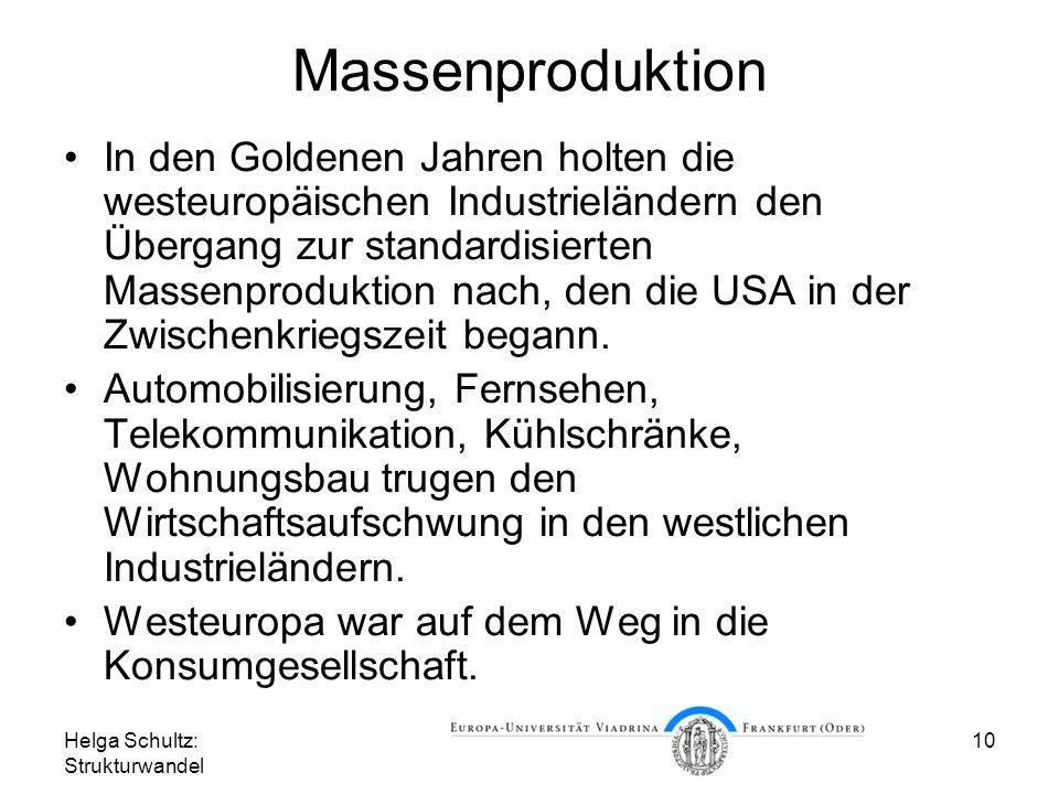 Massenproduktion
