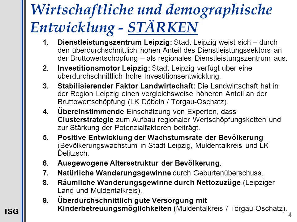 Wirtschaftliche und demographische Entwicklung - STÄRKEN