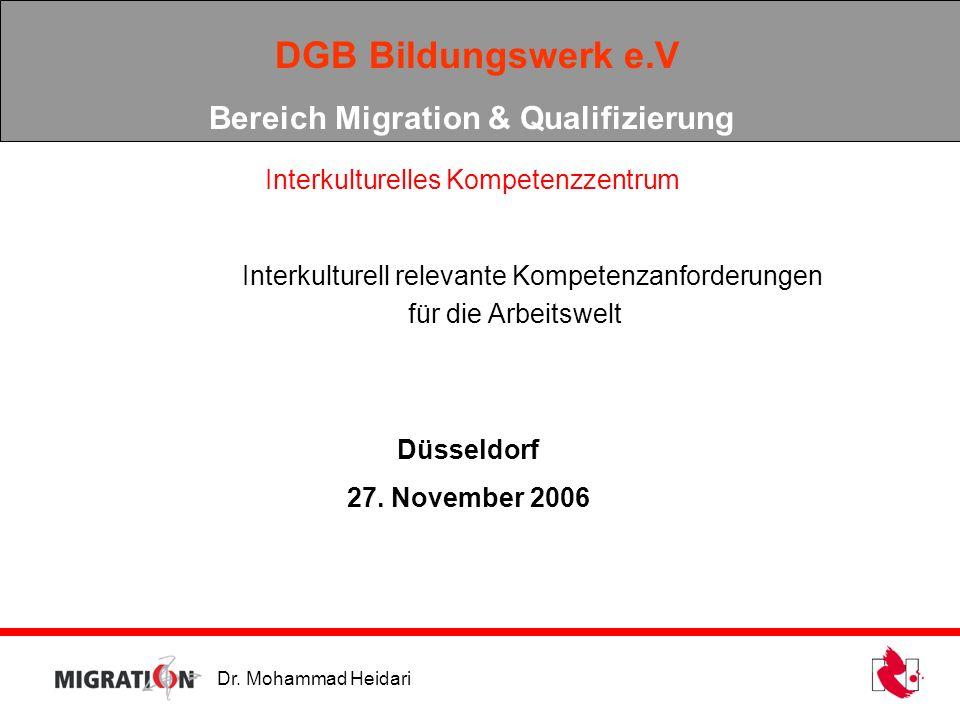 Bereich Migration & Qualifizierung