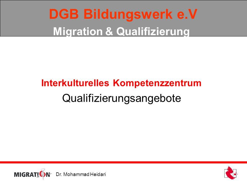 DGB Bildungswerk e.V Migration & Qualifizierung