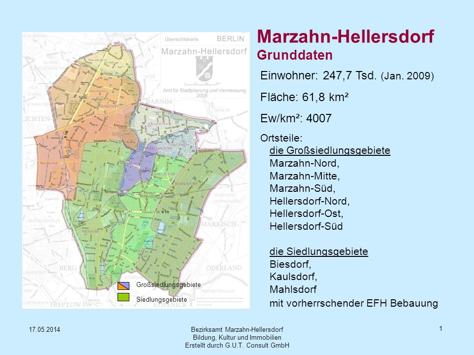 Marzahn-Hellersdorf Grunddaten