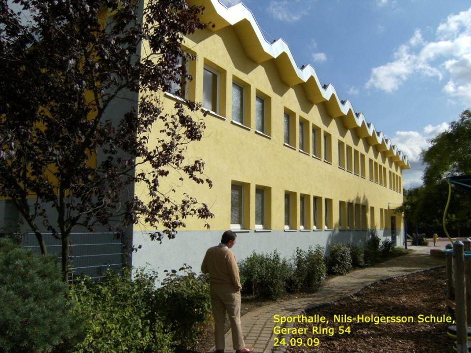 Turnhalle Nils-Holgersson- Schule Ansichten I