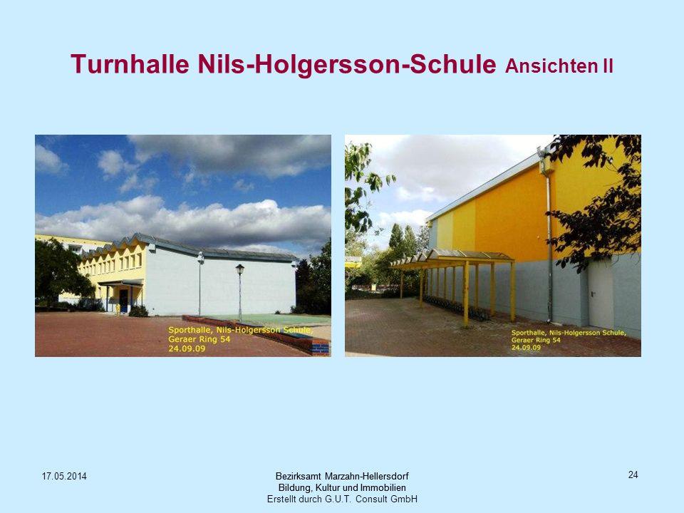 Turnhalle Nils-Holgersson-Schule Ansichten II
