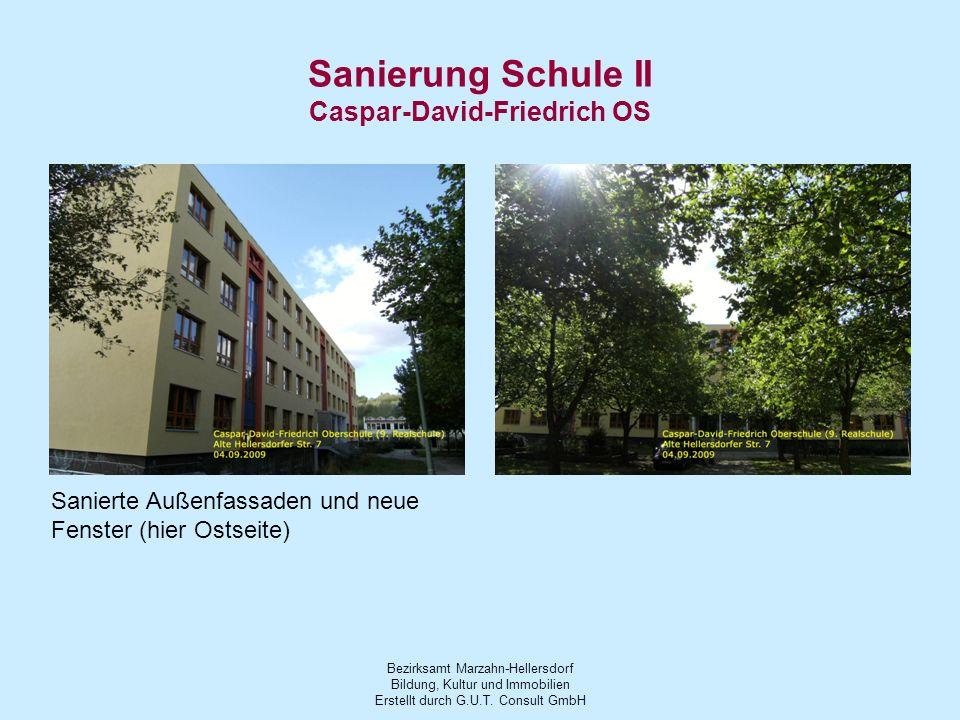 Sanierung Schule II Caspar-David-Friedrich OS