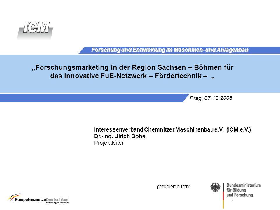 Forschung und Entwicklung im Maschinen- und Anlagenbau