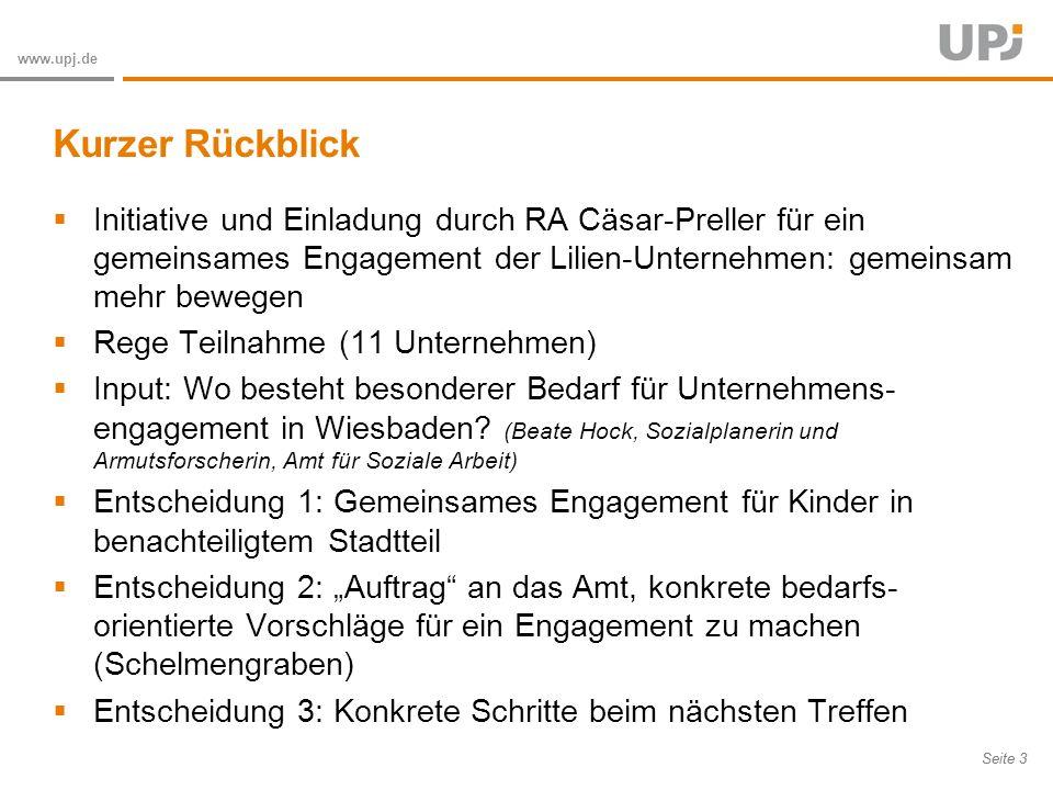 Kurzer Rückblick Initiative und Einladung durch RA Cäsar-Preller für ein gemeinsames Engagement der Lilien-Unternehmen: gemeinsam mehr bewegen.