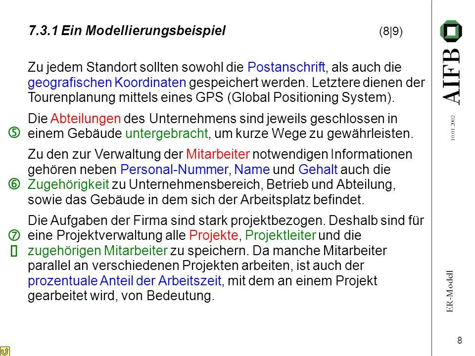 7.3.1 Ein Modellierungsbeispiel (8|9)