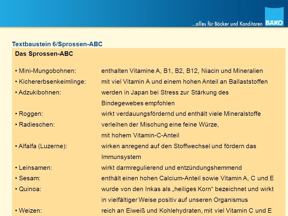 Textbaustein 6/Sprossen-ABC