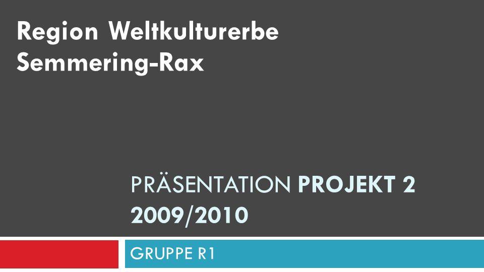 Präsentation Projekt 2 2009/2010
