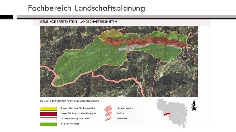 Fachbereich Landschaftsplanung