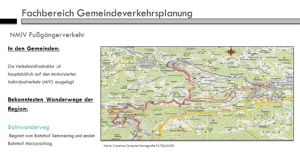 Fachbereich Gemeindeverkehrsplanung