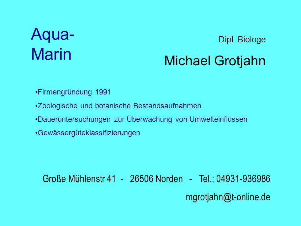 Aqua-Marin Michael Grotjahn