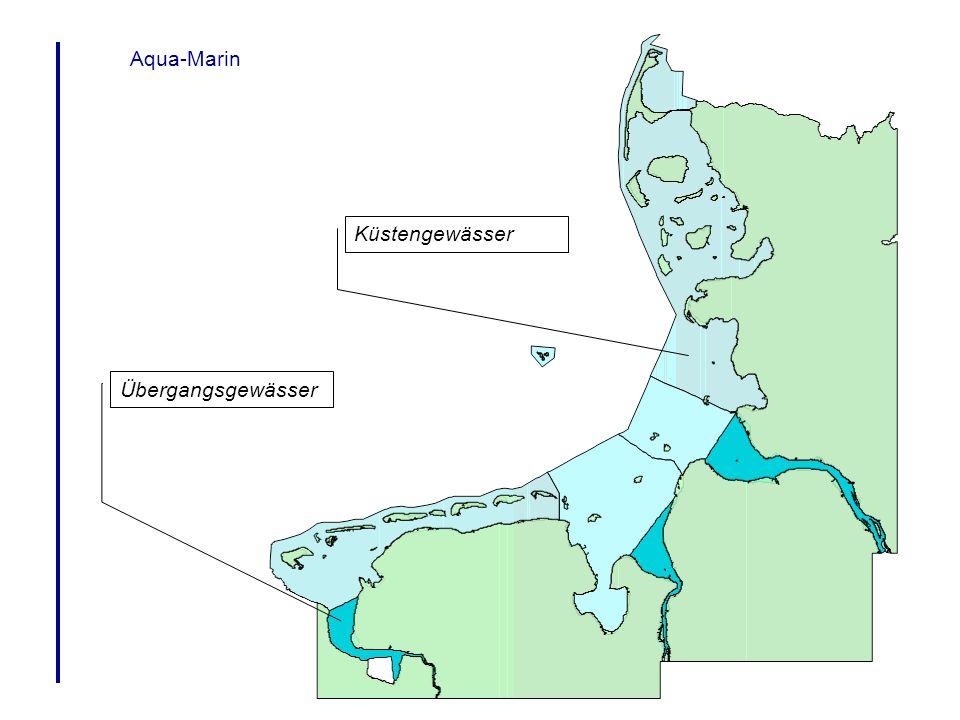 Aqua-Marin Küstengewässer Übergangsgewässer