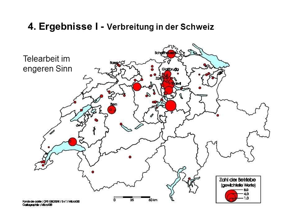 4. Ergebnisse I - Verbreitung in der Schweiz