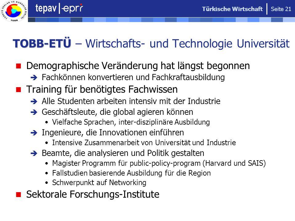 TOBB-ETÜ – Wirtschafts- und Technologie Universität