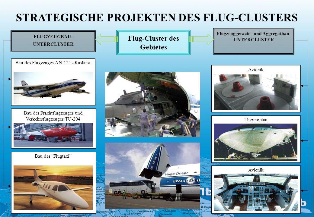 STRATEGISCHE PROJEKTEN DES FLUG-CLUSTERS