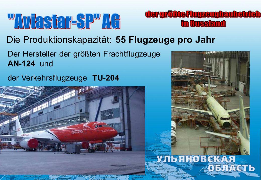 der größte Flugzeugbaubetrieb
