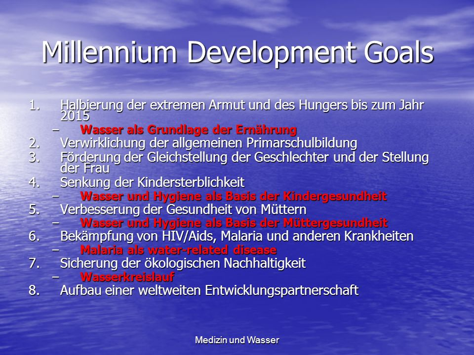 Millennium Development Goals