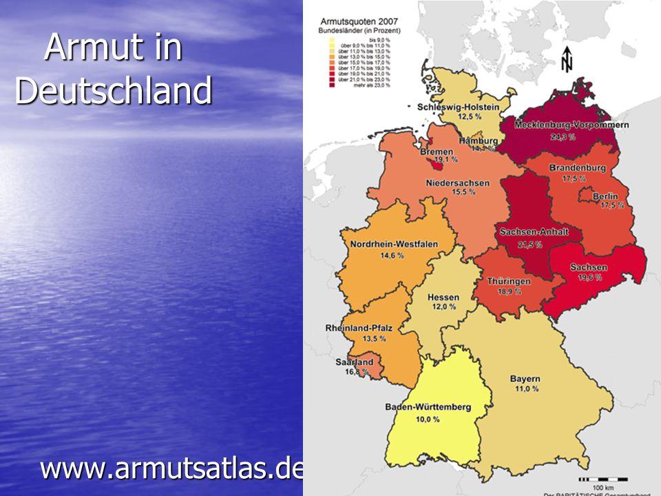 Armut in Deutschland www.armutsatlas.de
