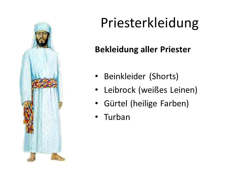 Priesterkleidung Bekleidung aller Priester Beinkleider (Shorts)