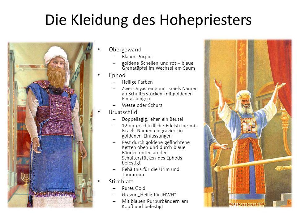 Die Kleidung des Hohepriesters
